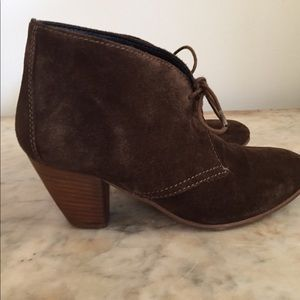 Madewell 1937 Suede booties